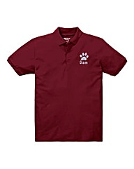 Personalised Dog Walking Polo Shirt