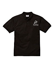 Personalised Horse Riding Polo Shirt
