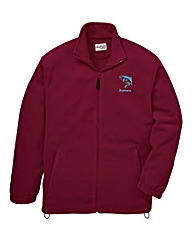 Personalised Fishing Zip Up Fleece