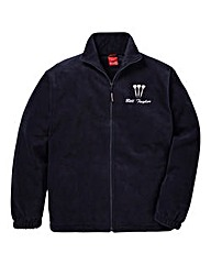 Personalised Darts Zip Up Fleece