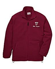 Personalised Darts Zip Up Fleece