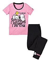 Personalised Snoopy Pyjamas