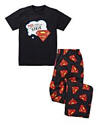 Personalised Superman Pyjamas
