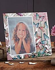Mirror Butterfly Photo Frame