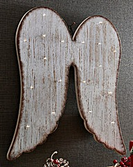 LED Angel Wings Wall Decoration