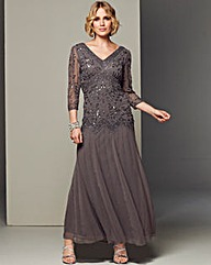 Nightingales Beaded Evening Dress