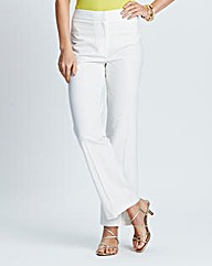 Nightingales Stretch Linen Trousers