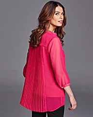 Nightingales Pleat Back Blouse