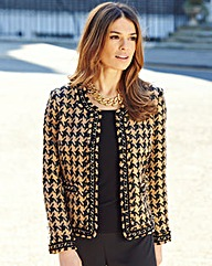 Nightingales Houndstooth Tailored Jacket