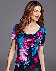 Nightingales Printed Top