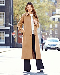Nightingales Longline Coat Length 47in