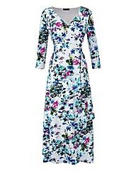 Grace Floral Print Maxi Dress