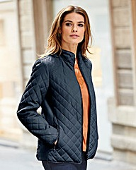 Nightingales Diamond Quilted Jacket