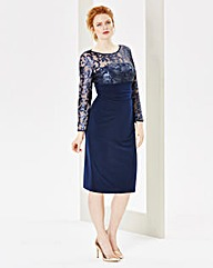 Nightingales Sequin Jersey Dress