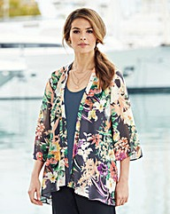 Nightingales Chiffon Kimono and Camisole