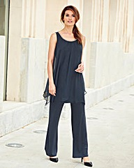 Nightingales Chiffon/ITY Jumpsuit