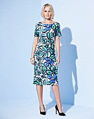 Nightingales Printed ITY Dress