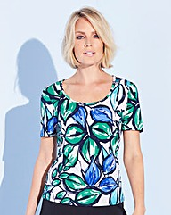 Nightingales Printed ITY Top