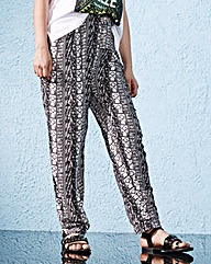 Print Woven Trousers Short