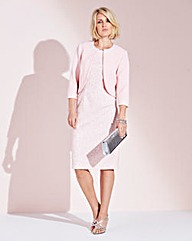 Nightingales Bonded Lace Dress & Jacket
