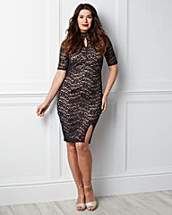 GB Edit Victoriana Lace Dress