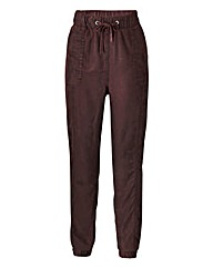 Lyocell Cuffed Trouser - Regular
