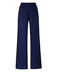 Crinkle Wide Leg Trouser - Regular
