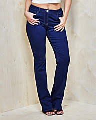 Simply Be 360°Fit Bootcut Jeans Long