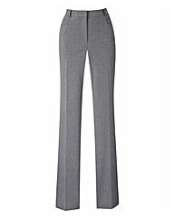Straight Leg Trouser - Long