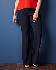 Mix And Match Bootcut Trousers - Long
