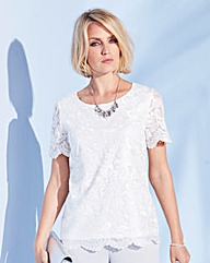 Nightingales Lace Blouse