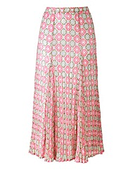 Nightingales Crinkle Georgette Skirt
