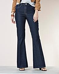 Kick Flare Jeans Long
