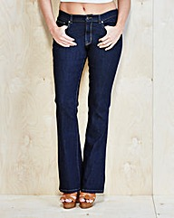 Simply Be Bootcut Jeans Short