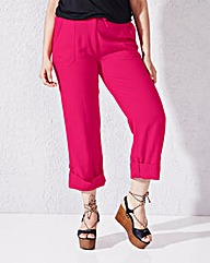 Fashion Linen Trousers Regular