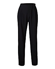 Asymmetric Tailored Trousers Long