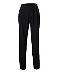 Asymmetric Tailored Trousers Regular