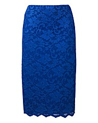 Nightingales Lace Pencil Skirt