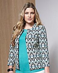 Nightingales Textured Aztec Jacket