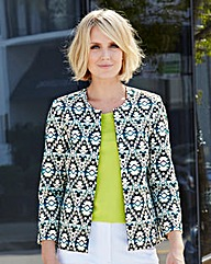 Nightingales Textured Aztec Jacket