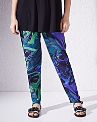 Harem Jersey Trousers Regular