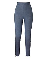 Zip Detail Legging Regular