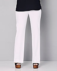 Bootcut Stretch Trousers - Long