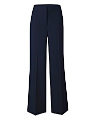 Wide Leg Stretch Trousers - Short