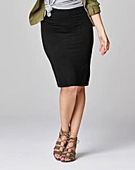 Jersey Stretch Tube Skirt