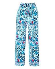Wide Leg Jersey Trouser 29INS