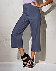 Simply Be Wide-Leg Crop Jean Reg