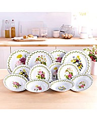 Spring Posy Dinner Set 12 Piece