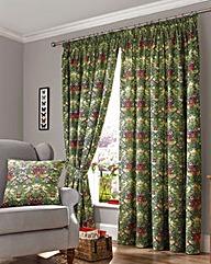 William Morris Curtains with Tie Backs