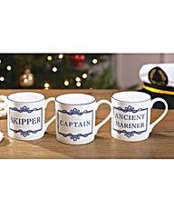 Mariners Mug Skipper